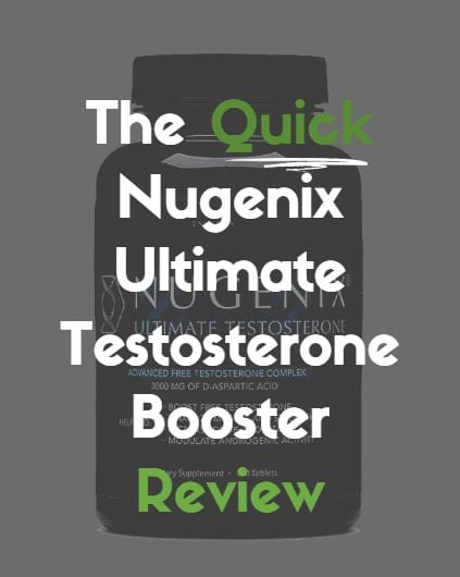 Nugenix Ultimate Testosterone Booster Review