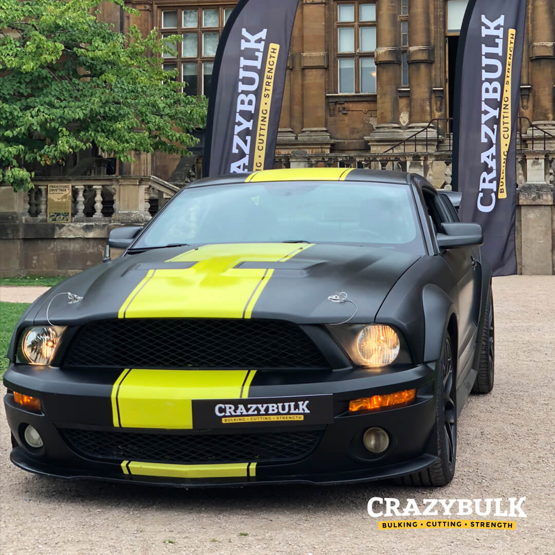 CrazyBulk Is Giving Away A FREE Mustang!